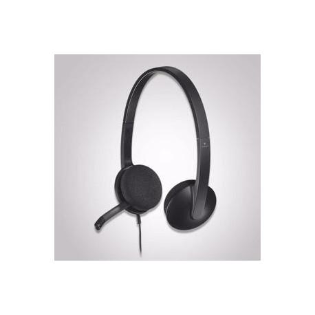 Auricular + microfono LOGITECH H540 USB (981-000480)