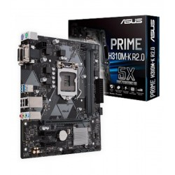 Placa Base INTEL s1151 ASUS PRIME H310M-K R2.0 2DDR4 mATX
