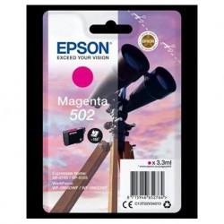 Cartucho Tinta EPSON nº502 Magenta Prismáticos (C13T02V34010)
