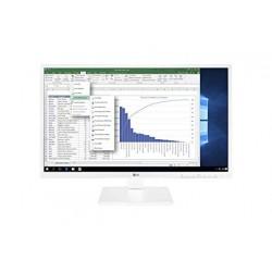 Monitor LG 24'' HDMI DVI DP MM Reg. Blanco (24BK550Y-W)