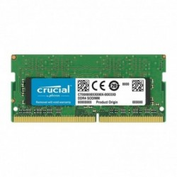 Memoria SODIMM DDR4 CRUCIAL 8Gb 2400Mhz (CT8G4SFS824A)
