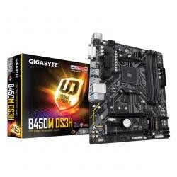 Placa Base GIGABYTE GA-B450M DS3H (AM4) 4xDDR4 HDMI DVI mATX