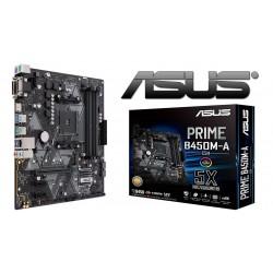 Placa Base ASUS PRIME B450M-A (AM4) 4xDDR4 VGA DVI HDMI mATX