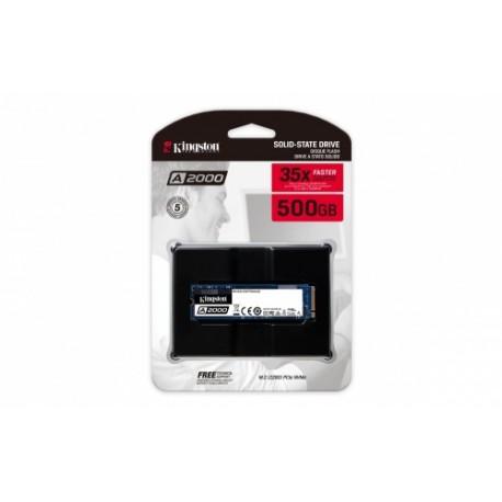 Disco SSD KINGSTON A2000 500Gb M2 2280 NVME (SA2000M8/500G)