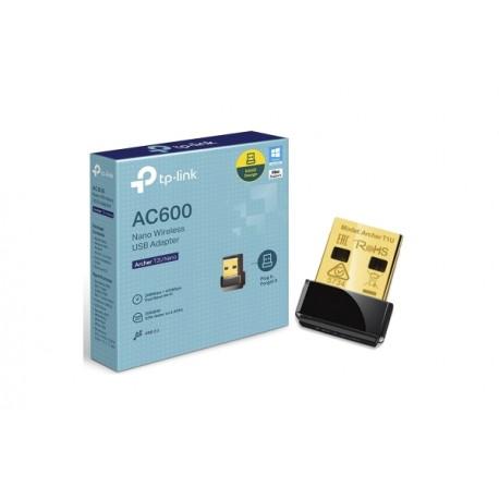 Tarjeta Red USB TP-LINK Wifi AC600 (ARCHER T2U NANO)