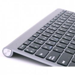 Teclado SUBBLIM Pure Compact BT3.0 Gris (2PUC101)