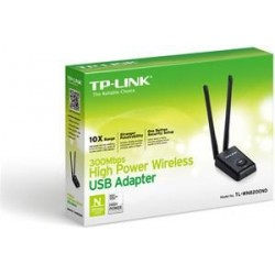 Adaptador USB Wireless TP-Link 300Mbps 11N Alta Ganancia (TL-WN8200ND)