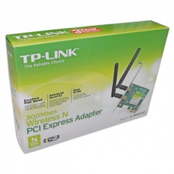 Tarjeta de Red Wireless TP-Link 300MB PCIe (TL-WN881ND)