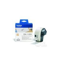 Papel Etiquetas Brother DK-11201 29mmx90mm 400Unid