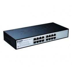 Switch D-Link 10/100 16P EasySmart 16'' RACK (DES-1100-16)