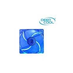Ventilador Auxiliar Carcasa DeepCool 12x12 Transparente Led Azul