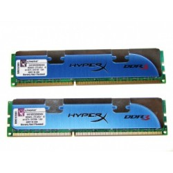 Memoria DDR3 1600Mhz Kit 8GB HyperX Kingston (2x4GB)