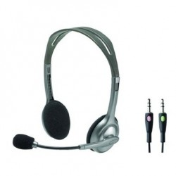 Auricular + Microfono Logitech Stereo Headset H110 (981-0271)