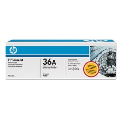 Toner Laser HP (CB436A) 36A Negro Laserjet M1120/M1522/P1505 Series